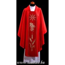 Chasuble, Vestment - red /A-649