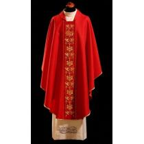 Chasuble, Vestment - red /1-47