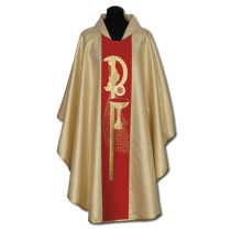 Chasuble, Vestment - gold /A-635