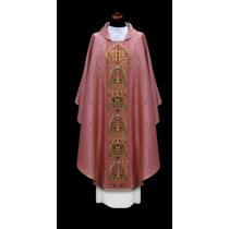 EMBROIDERED CHASUBLES - ROSE /2-83