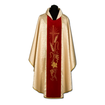Chasuble, Vestment - gold /A-716