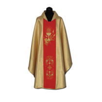Chasuble, Vestment - gold  /A-713