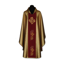 Chasuble, Vestment - gold /A-714