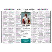 katolikus naptár 2019 letöltés Kalendárium Naptárok   2019 as kártyanaptár 10 db os csomag Házi katolikus naptár 2019 letöltés