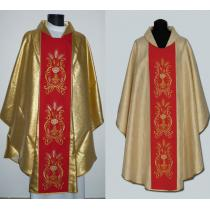 Chasuble, Vestment - gold /A-712