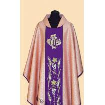 EMBROIDERED CHASUBLES - ROSE /A-705