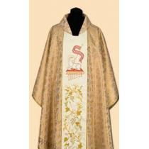 Chasuble, Vestment - gold /A-741